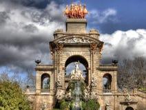 Stationnement de Ciudadela, Barcelone photographie stock