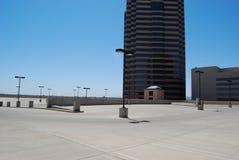 Stationnement de dessus de toit Image stock