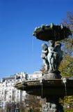 stationnement de fontaine Photo libre de droits