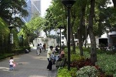 Stationnement de Hong Kong Photographie stock