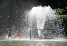 Stationnement de l'eau Photos stock
