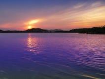 Stationnement de lac Photo libre de droits
