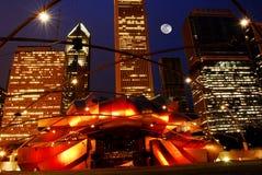 Stationnement de millénaire de Chicago Image libre de droits