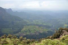Stationnement de montagne de Simien Photo libre de droits