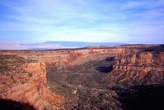 Stationnement de monument national du Colorado Photo libre de droits