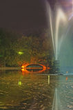 stationnement de nuit Images libres de droits