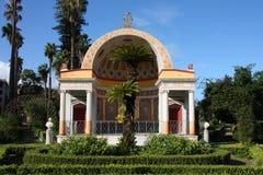 Stationnement de Palerme - villa Giulia Photo libre de droits