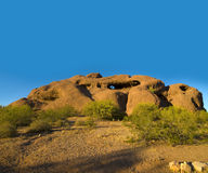 Stationnement de Papaogo à Phoenix, AZ Photo libre de droits