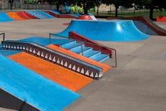 Stationnement de patin Photographie stock