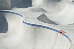 Stationnement de patin et de vélo Image libre de droits