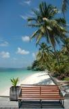Stationnement de plage photographie stock libre de droits