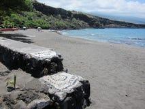 Stationnement de plage d'île photographie stock