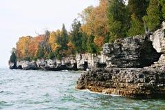 Stationnement de point de caverne du Wisconsin images libres de droits
