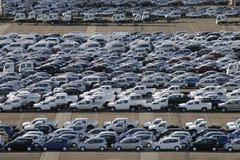 stationnement de port de véhicule Photos stock