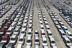 stationnement de port de véhicule Images stock
