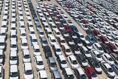 stationnement de port de véhicule Image libre de droits