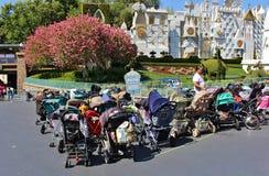 Stationnement de poussette, Disneyland images stock