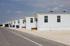 Stationnement de remorque de FEMA dans Joplin, Missouri Photos libres de droits