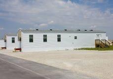 Stationnement de remorque de FEMA dans Joplin, Missouri Image stock
