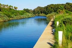 Stationnement de rivière de Hadera Photographie stock libre de droits