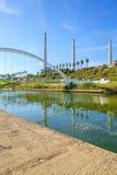 Stationnement de rivière de Hadera Photos libres de droits