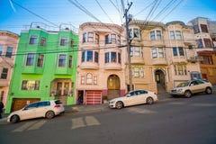 Stationnement de rue à San Francisco photos libres de droits