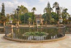 Stationnement de Séville Image libre de droits