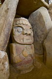Stationnement de San Agustin Archaelogical - Colombie Images libres de droits