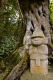 Stationnement de San Agustin Archaelogical - Colombie Image libre de droits