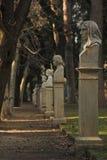 Stationnement de sculpture à Rome Photographie stock libre de droits