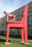 Stationnement de sculpture Image libre de droits