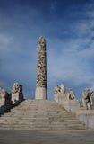 Stationnement de sculpture en Vigeland à Oslo, Norvège Photos libres de droits