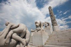 Stationnement de sculpture en Vigeland Image stock