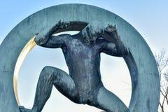 Stationnement de sculpture en Vigeland Photographie stock libre de droits