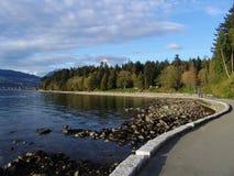 Stationnement de Stanley à Vancouver Photographie stock