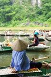 Stationnement de Tam Coc Natioanl Photo libre de droits