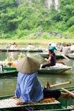 Stationnement de Tam Coc Natioanl Photo libre de droits