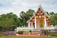 Stationnement de temple photo stock