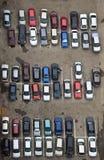 Stationnement de véhicule Photographie stock libre de droits
