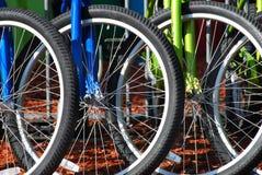 Stationnement de vélo Photo libre de droits