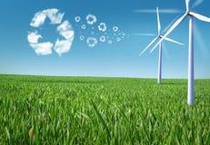 Stationnement de vent Photographie stock libre de droits
