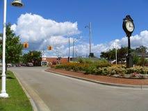 Stationnement de ville Photographie stock libre de droits