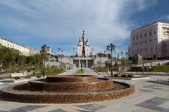 Stationnement de ville Photos libres de droits