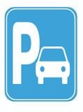 Stationnement de voiture Image libre de droits