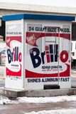 Stationnement de Warhol Photographie stock libre de droits