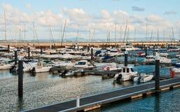 Stationnement de yacht Photos stock