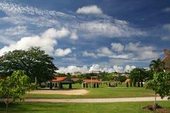 Stationnement de Ypao en Guam Photos libres de droits