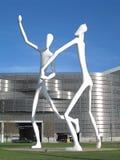 Stationnement Denver de sculpture Photos stock
