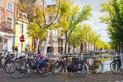Stationnement des bicyclettes Image stock
