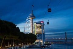 Stationnement des nations, Lisbonne photo stock
